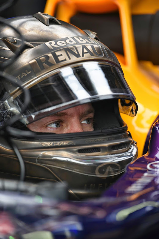 шлем Себастьяна Феттеля для Гран-при Монако 2014