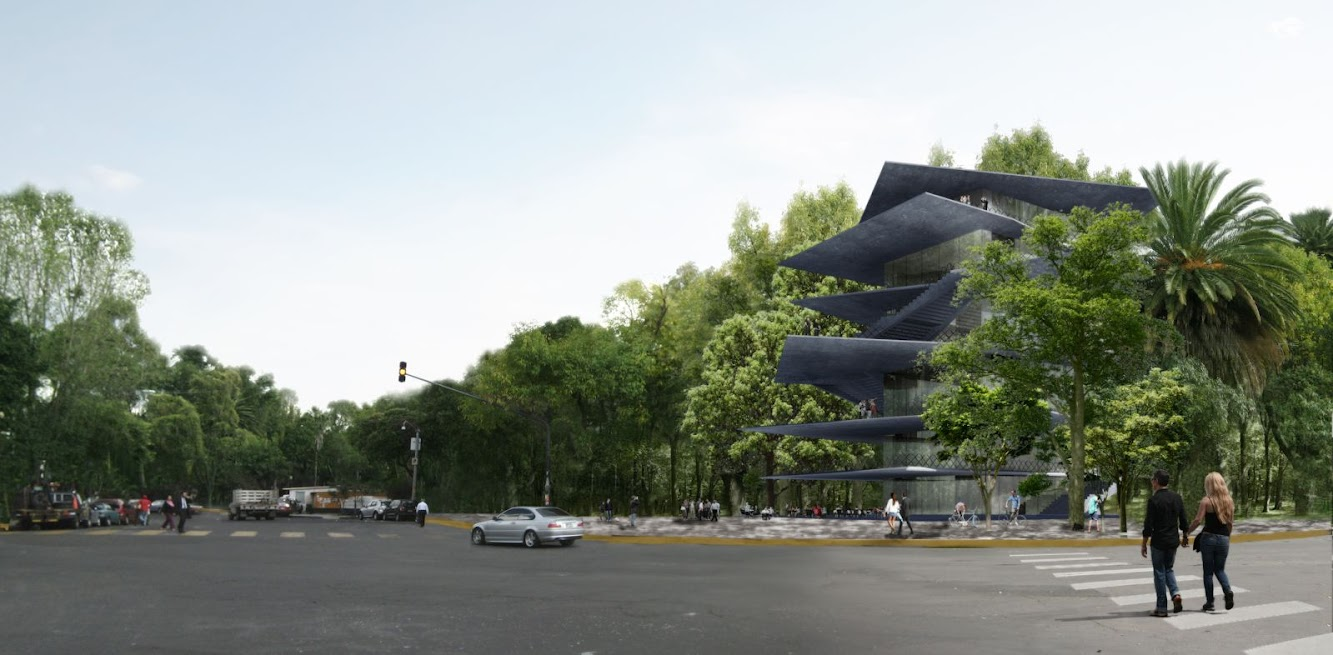 Città del Messico, Distretto Federale, Messico: ARCHIVO: Design For New Building in Mexico City by Zeller & Moye