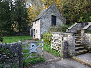 The National Trust Information Barn in Milldale