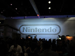 In the North Hall, the major vendors await - first up was Nintendo