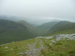 Ullswater and Pasture Bottom from descent of Thornthwaite Crag