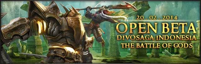 Open Beta Divosaga Indonesia