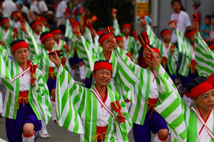 第59回よさこい祭り☆本祭1日目・升形地域競演場74☆上1目2008