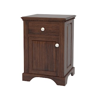 Hudson Nightstand with Doors