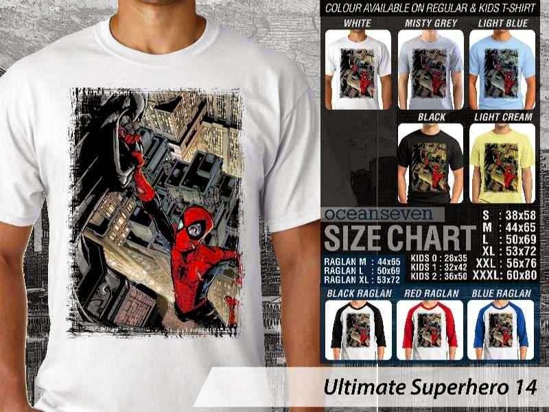 KAOS spiderman 14 Ultimate Superhero distro ocean seven