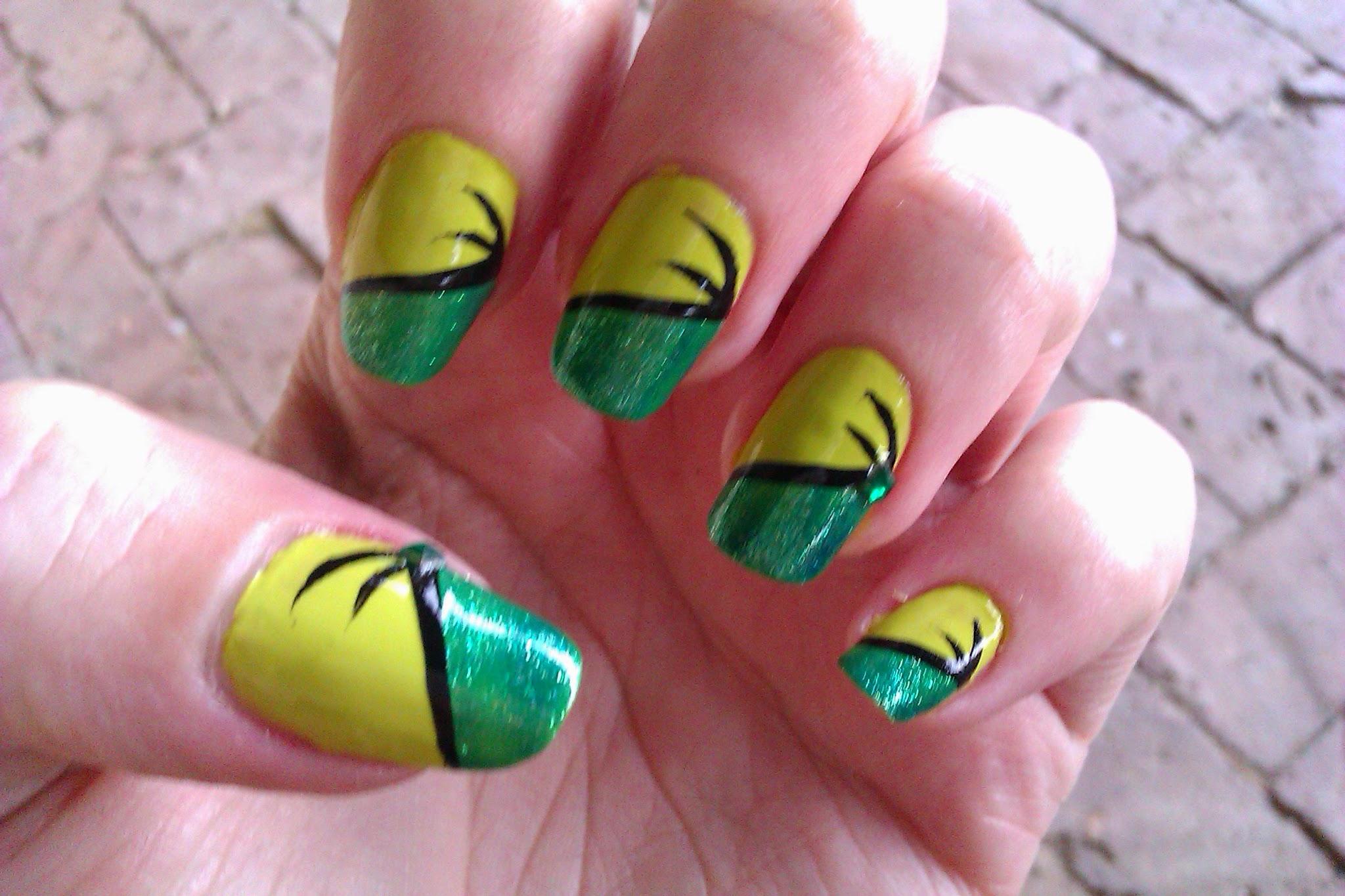 steps of nail art design gallery - nail art designs