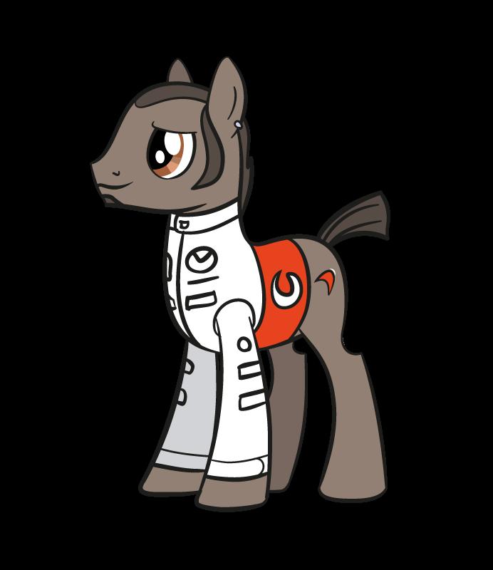 лошадка Льюис Хэмилтон McLaren My Little Pony