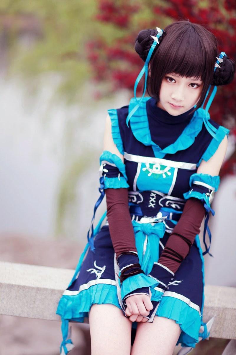 Vẻ đẹp dễ thương của tiểu nữ hiệp Đường Môn