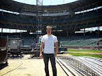 standing on the friggin mound at friggin Wrigley Field...just wow