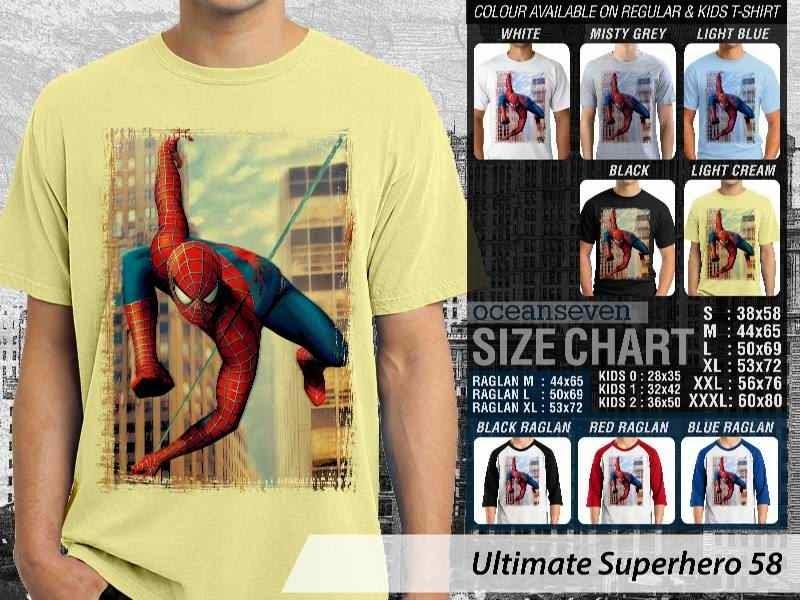 KAOS spiderman 58 Ultimate Superhero distro ocean seven