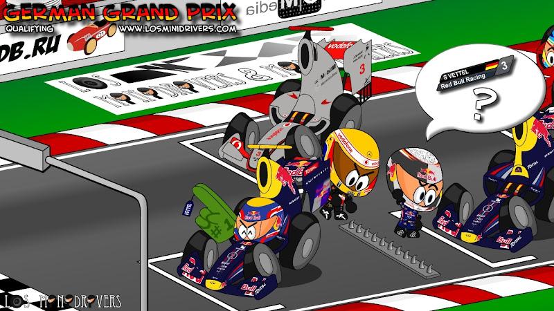 итоги квалификации на Нюрбургринге от Los MiniDrivers по Гран-при Германии 2011