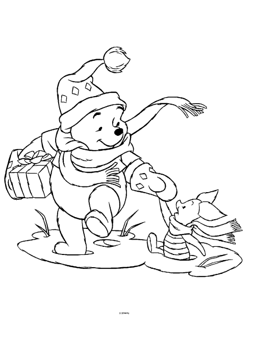 Winnie The Pooh Activity and Color Pages A to Z Kids Stuff - coloring pages of winnie the pooh