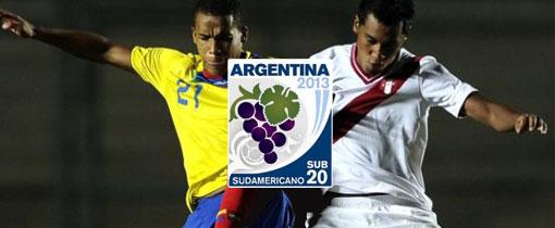 Perú vs. Ecuador en Vivo - Sudamericano Sub 20 - CMD