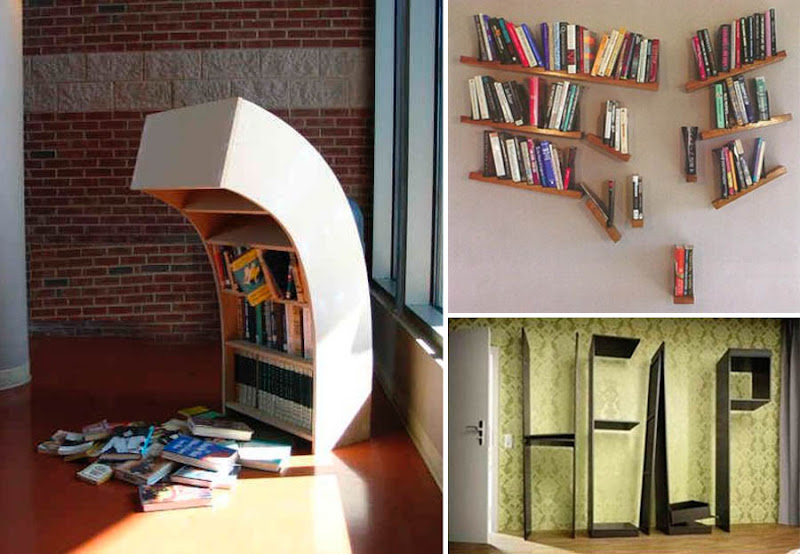 "Bookshelves Images dark roasted blend: bookshelf heaven: awesome ""containers"" for books"