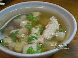 肉羮清湯,很好喝,很好喝!!!!