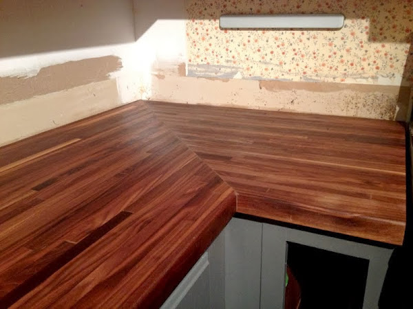 Butcher Block Countertop Treatment