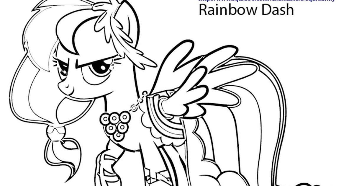 printable coloring pages my little pony