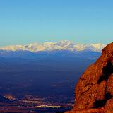 Snow-Capped Peaks in the Distance - Montserrat, Spain
