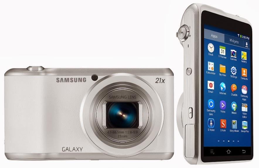 Spesifikasi Lengkap dan Harga Samsung Galaxy Camera 2