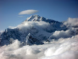 Denali Surrounded by Clouds - Talkeetna, AK