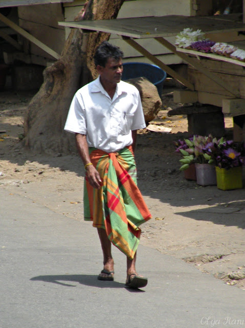 how to wear a sarong male