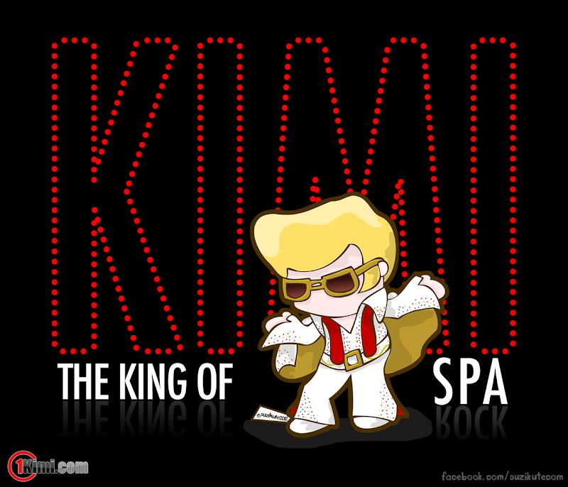 The King of Spa Кими Райкконен - король Спа by SuziKute перед Гран-при Бельгии 2012