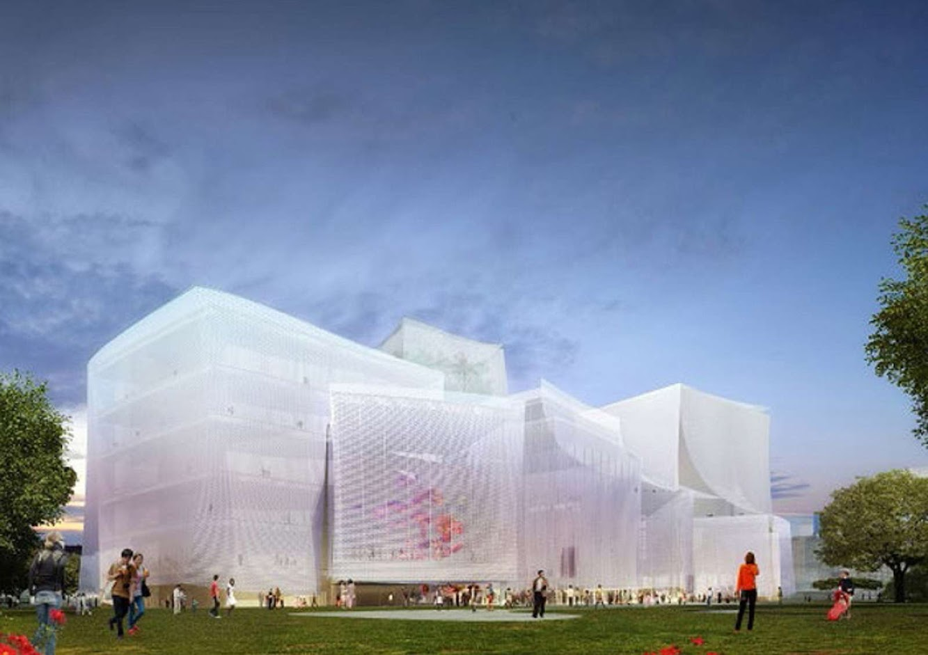 Taichung, Taiwan: Sanaa Wins Taichung City Cultural Center Competition