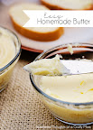 Easy Homemade Butter