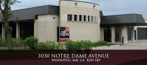 Neil Bardal Funeral Centre, 3030 Notre Dame Ave, Winnipeg, MB R3H 1B9, Canada, Funeral Home, state Manitoba