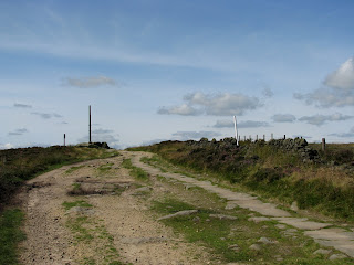Looking back to Stanedge Pole - and whats that pole lurking on the right?