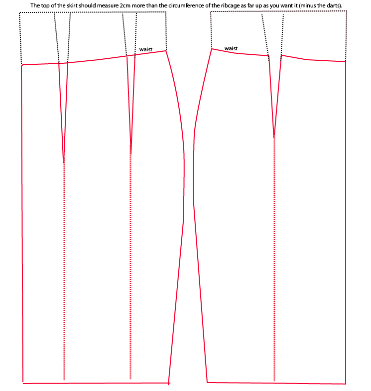 Юбки-пачки выкройка