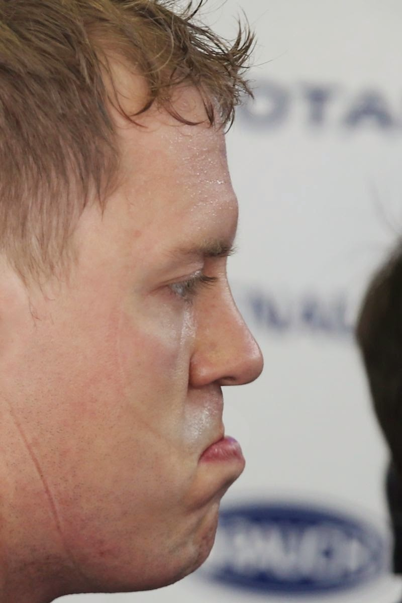 Себастьян Феттель not bad на Гран-при Венгрии 2014