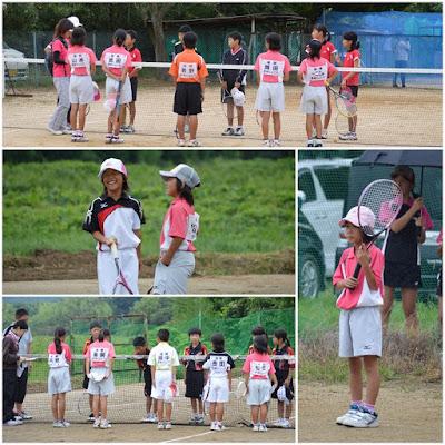 写真はここから(フォームチェックして出直しやっ!) 野洲ジュニアソフトテニスクラブ