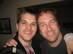 Me & JT after rockin the Bald Helmut show