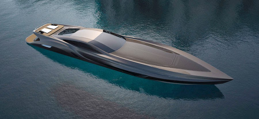 Extreme futuristic boats super yachts hot car wash new - Fantastic modern architecture in futuristic design with owner passion ...