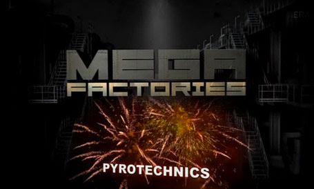 Megafabryki Pirotechnicy / Megafactories Pyrotechnics (2012) PL.TVRip.XviD / Lektor PL