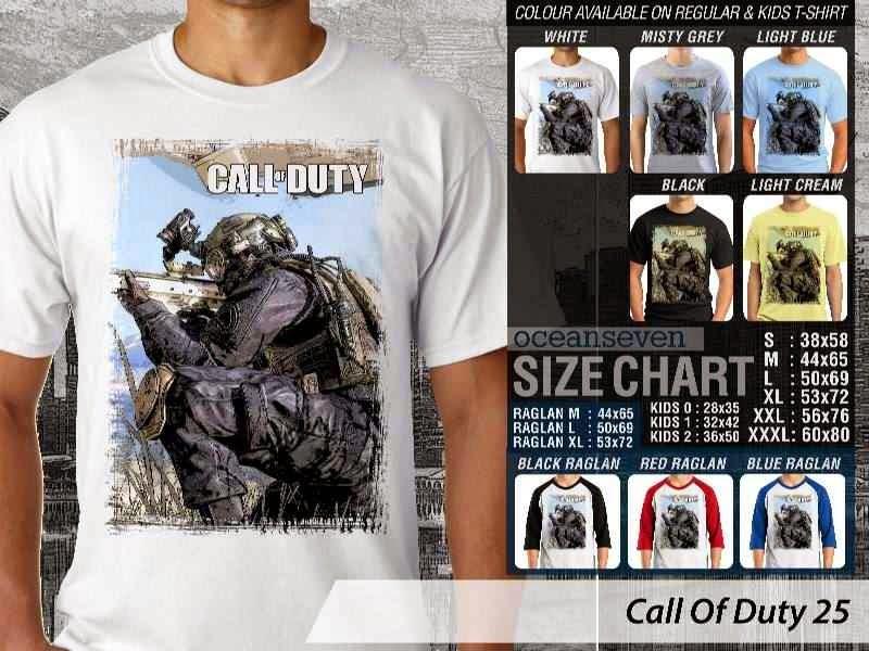 KAOS cod Call Of Duty 25 Game Series distro ocean seven