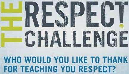 Celebrity PSA Launch The Respect Challenge