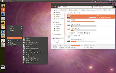 Ubuntu Unity Skin for Windows