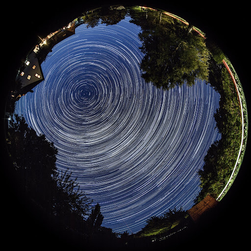 Rügen Star Trail