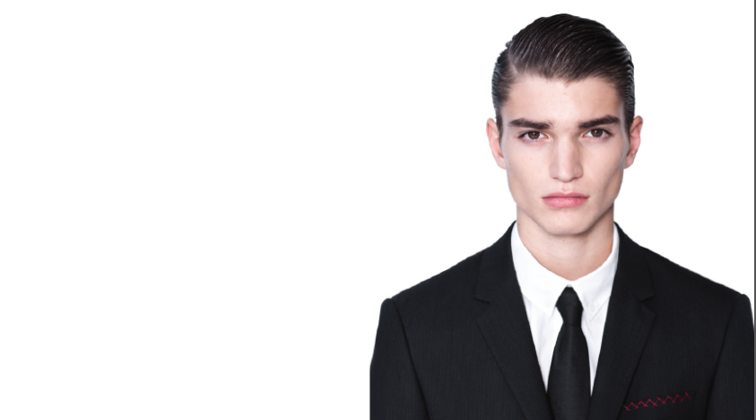Kris Van Assche: Sportswear Infused Formal Wear [men's fashion]