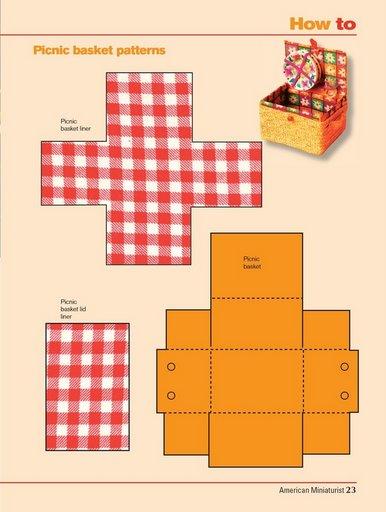 Как сделать еду куклам из бумаги