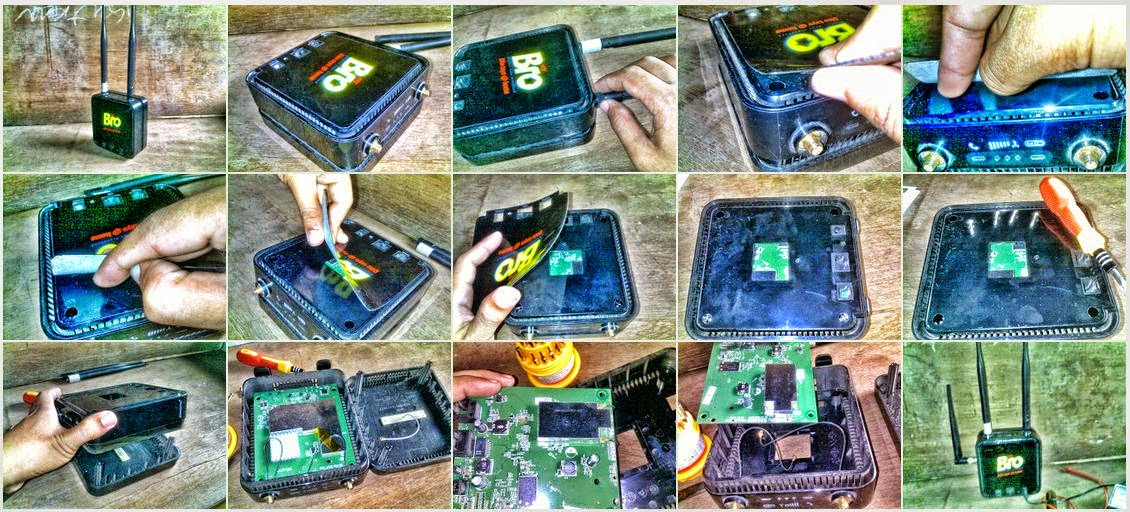 Image of Disassemble MyBro Wimax Greenpacket DV-235T?