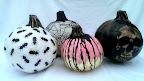 DIY paper Mache pumpkins