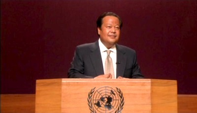 Prem Rawat Maharaji en United Nations Conference Center, Bangkok