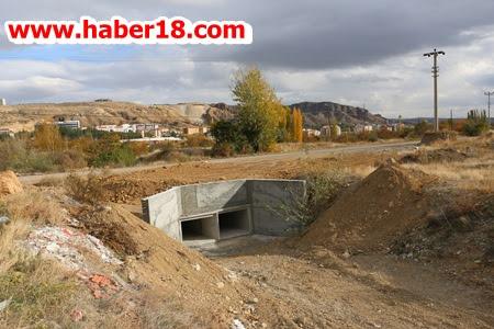 Çankırı Belediyesi Atatürk Yolunun Menfezlerini Genişletti