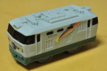 マクドナルド ハッピーセット プラレール EF510形 電気機関車 寝台特急カシオペア