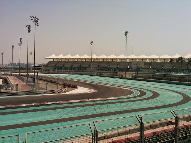 Yas Marina Formula One Race Track
