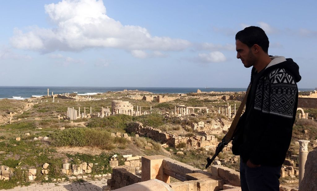 Near East: The unlikely saviours of Libya's Roman remains