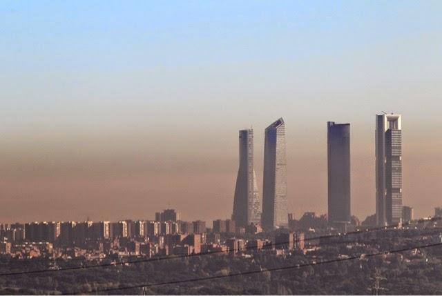 contaminación ambiental aire ciudades salud cáncer Madrid Barcelona